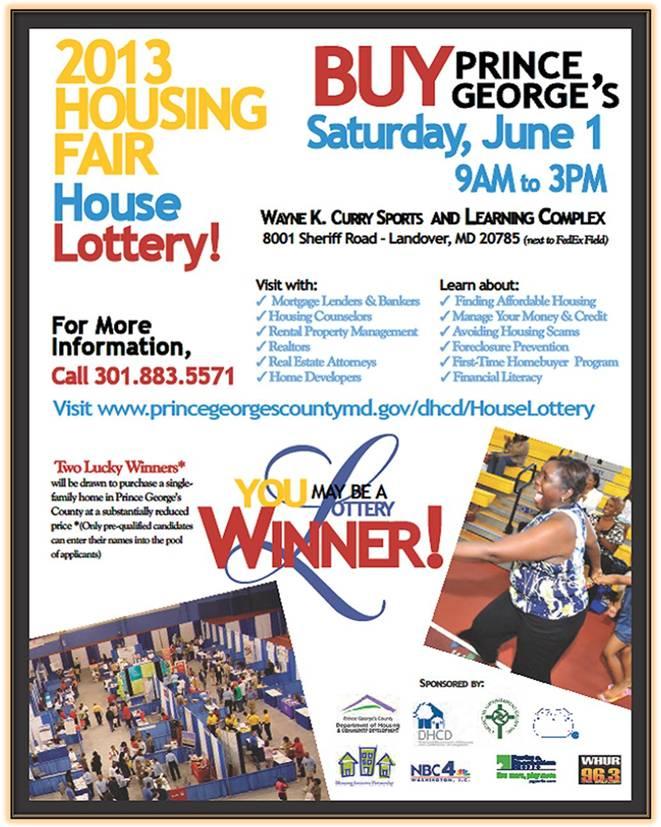Housing Fair flyer