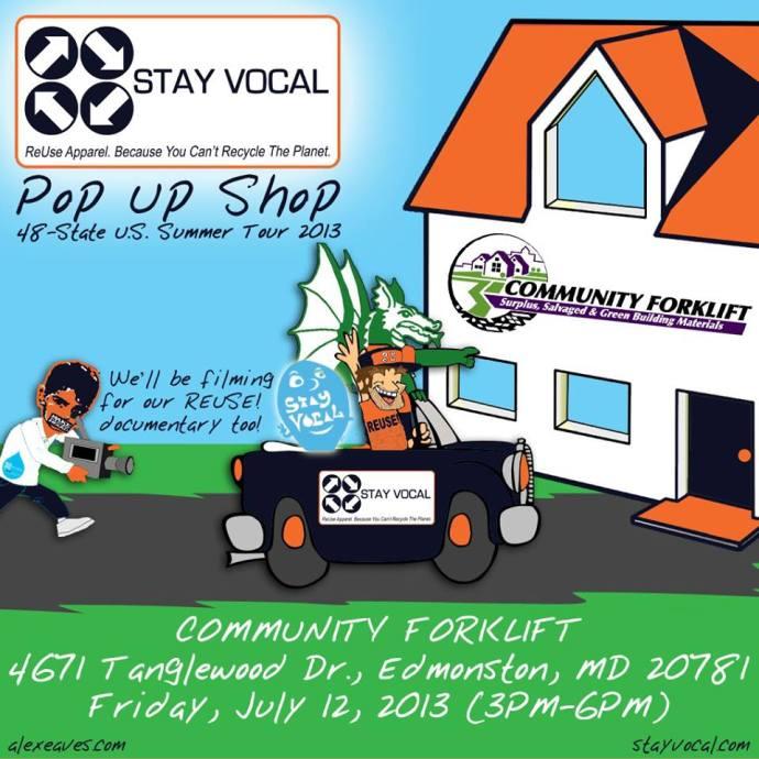 2013 - 7 - 11 Pop-Up Shop graphic