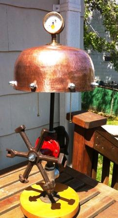 copper lamp compressed