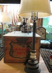 Terry Lewis steampunk lamp