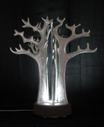 A gorgeous silver tree