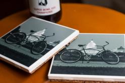 Forklift Fan Amir Lowery makes coasters using our tiles and his beautiful photography