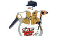 mr fix it snowman