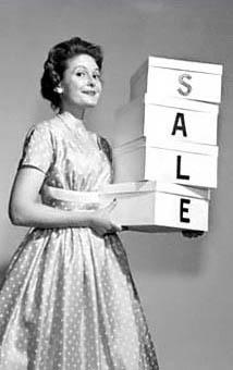 vintage sale graphic