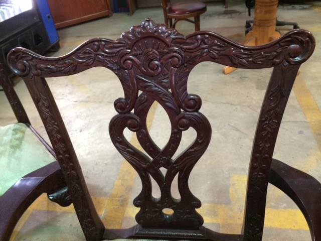 2014 - 05 - 09 Chippendale chair