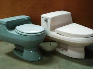 one piece toilets compressed