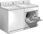 washer and dryer clipart