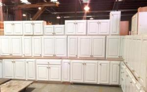 Cabinet sets are normally priced at $150 - $2,000 (depending on size, quality, and condition).  This weekend, you might save hundreds of dollars!!!