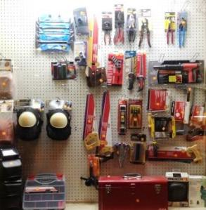 We even have some high-quality Ace Hardware tools, donated by our friends at A Few Cool Hardware Stores