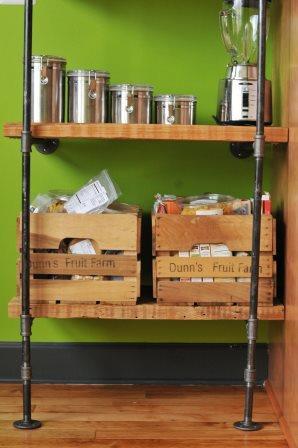 kitchen shelving compressed