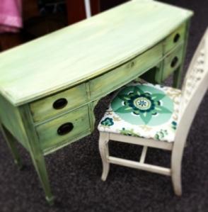shabadaba green desk